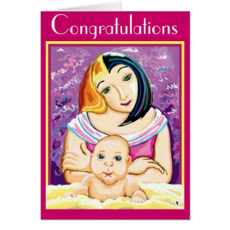 Congratulations - new baby card