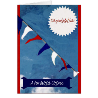 Congratulations New British Citizen Card