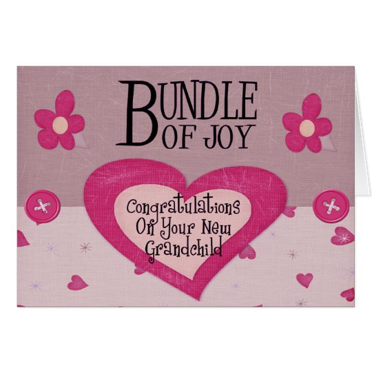 Congratulations New Grandparent Card Zazzle Com