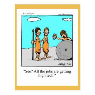 Congratulations/New Job Funny Postcard