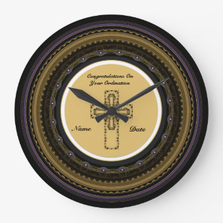 Congratulations Newly Ordained Ordainment Gift Large Clock