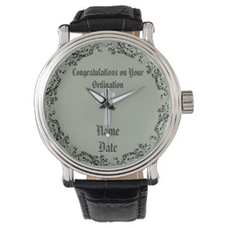 Congratulations Newly Ordained Ordainment Gift Wristwatch