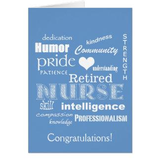 Congratulations Nurse Retirement! Card