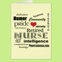 Congratulations Nurse Retirement! Card
