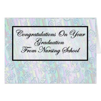 Congratulations Nursing School Graduation Card