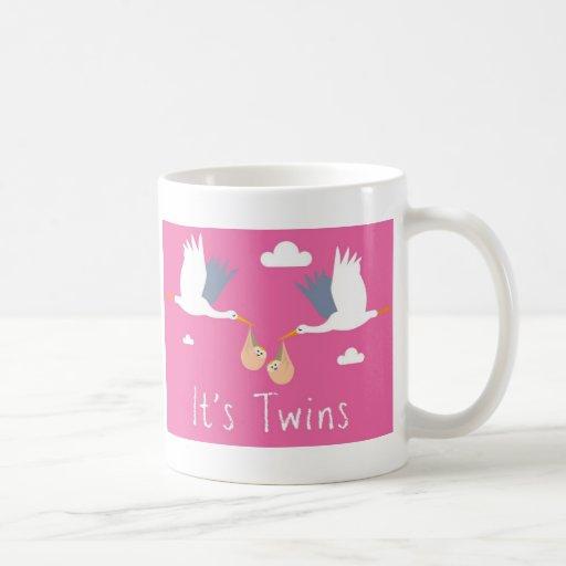 Congratulations of Birth Mug (Twins)