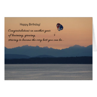 Congratulations on another year...Birthday Card