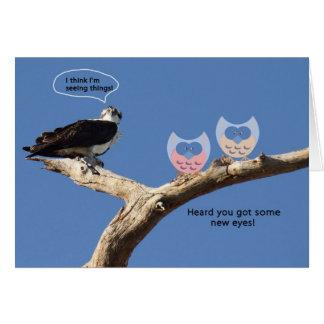 Congratulations on Cataract Surgery, Humor Card