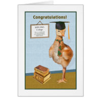 Congratulations on College Graduation Card