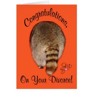 Congratulations On Divorce Greeting Card
