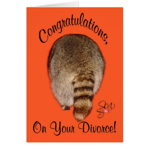Congratulations On Divorce Greeting Cards