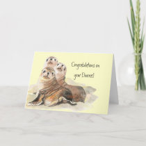 Congratulations on Divorce Seals of Approval Card