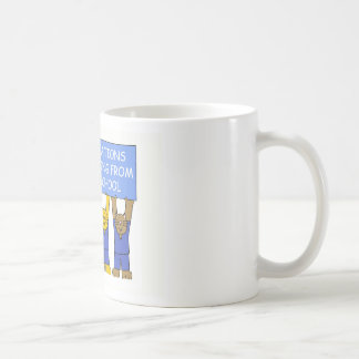 Congratulations on graduating from nursing school. coffee mug