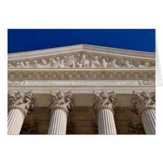 Congratulations on Law Degree Supreme Court Card