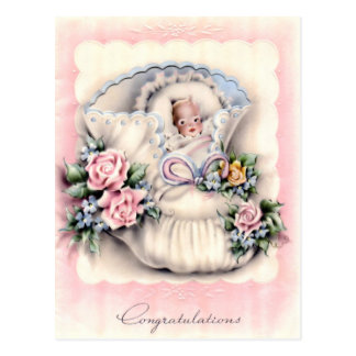 Congratulations On New Baby Postcard