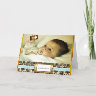 Congratulations on New Baby Pregnancy Card