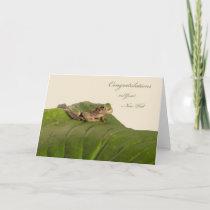 Congratulations on New Home, Apartment, or Condo Card