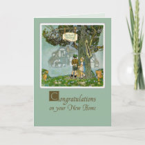Congratulations on New Home, Storybook Card