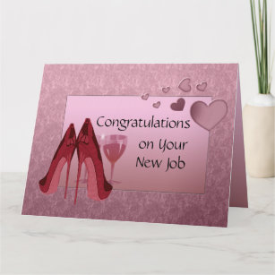 New job congratulations cards zazzle congratulations on new job greeting card m4hsunfo