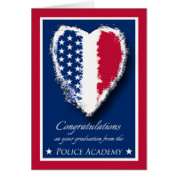 Congratulations on Police Academy Graduation Card