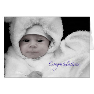 Congratulations on the Birth of a Baby Boy Card