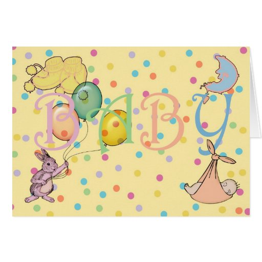 Congratulations on the birth of your new baby greeting cards