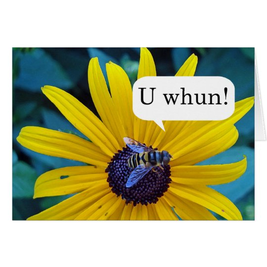 Congratulations on Winning Spelling Bee Card