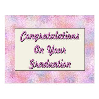 Congratulations On You Graduation Postcard