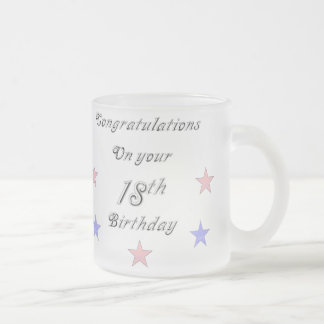 Congratulations On your 18th Birthday Mug