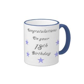 Congratulations On your 18th Birthday Mug