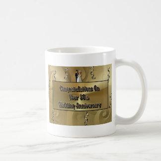 Congratulations On Your 50th Wedding Anniversary Coffee Mug