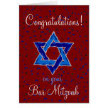 Congratulations on your Bar Mitzvah Greeting Cards