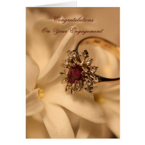 Congratulations On Your Engagement Greeting Cards