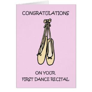 Congratulations on Your First Dance Recital.