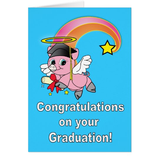 Congratulations on your graduation! card