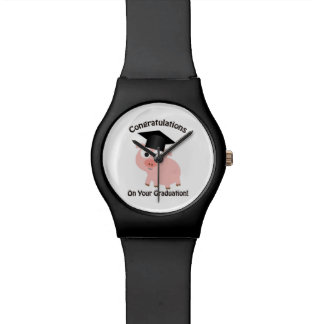Congratulations on Your Graduation! Pig Wristwatches