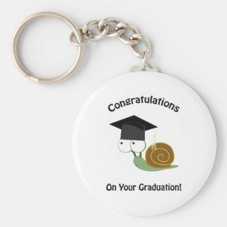 Congratulations on Your Graduation Snail Keychain