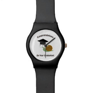 Congratulations on Your Graduation Snail Wrist Watches