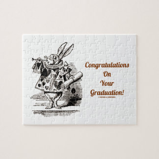 Congratulations On Your Graduation! (White Rabbit) Jigsaw Puzzles