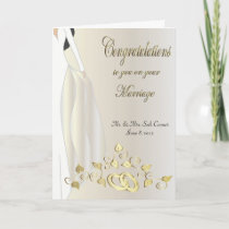 Congratulations on your Marriage Card