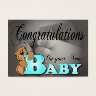 Congratulations On your New Baby Business Card