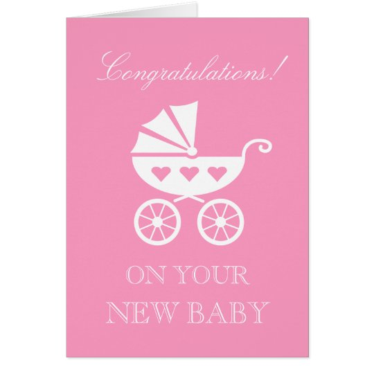Congratulations on the new baby girl