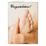 Congratulations On Your New Family Member Card