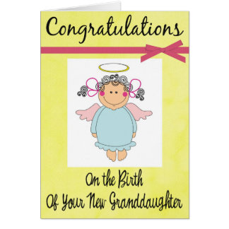 Congratulations on Your New Granddaughter Card