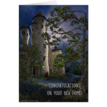 congratulations on your new home, new, home, congratulations, personalized, buyer, cute, congratulation, custom, notes, house, modern, realtors, real, estate, from, greeting, address, cards, Card with custom graphic design