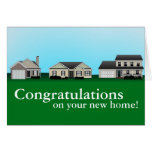 Congratulations on your new home cards