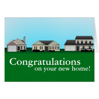 New Homeowner Cards Zazzle