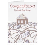 Congratulations on your  New Home Greeting Cards