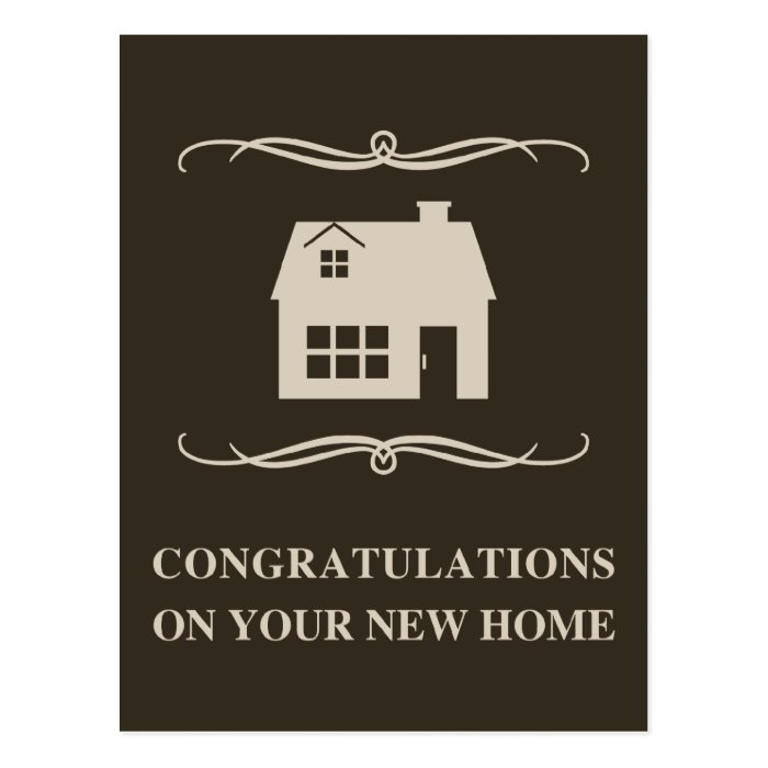 7 Apps To Use While Designing And Building Your New Home: Congratulations On Your New Home : Mod Home Postcard