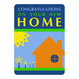congratulations on your new home (mod shapes) card